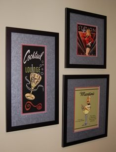 Framing & Hanging Artwork ~ There's an Art to It!