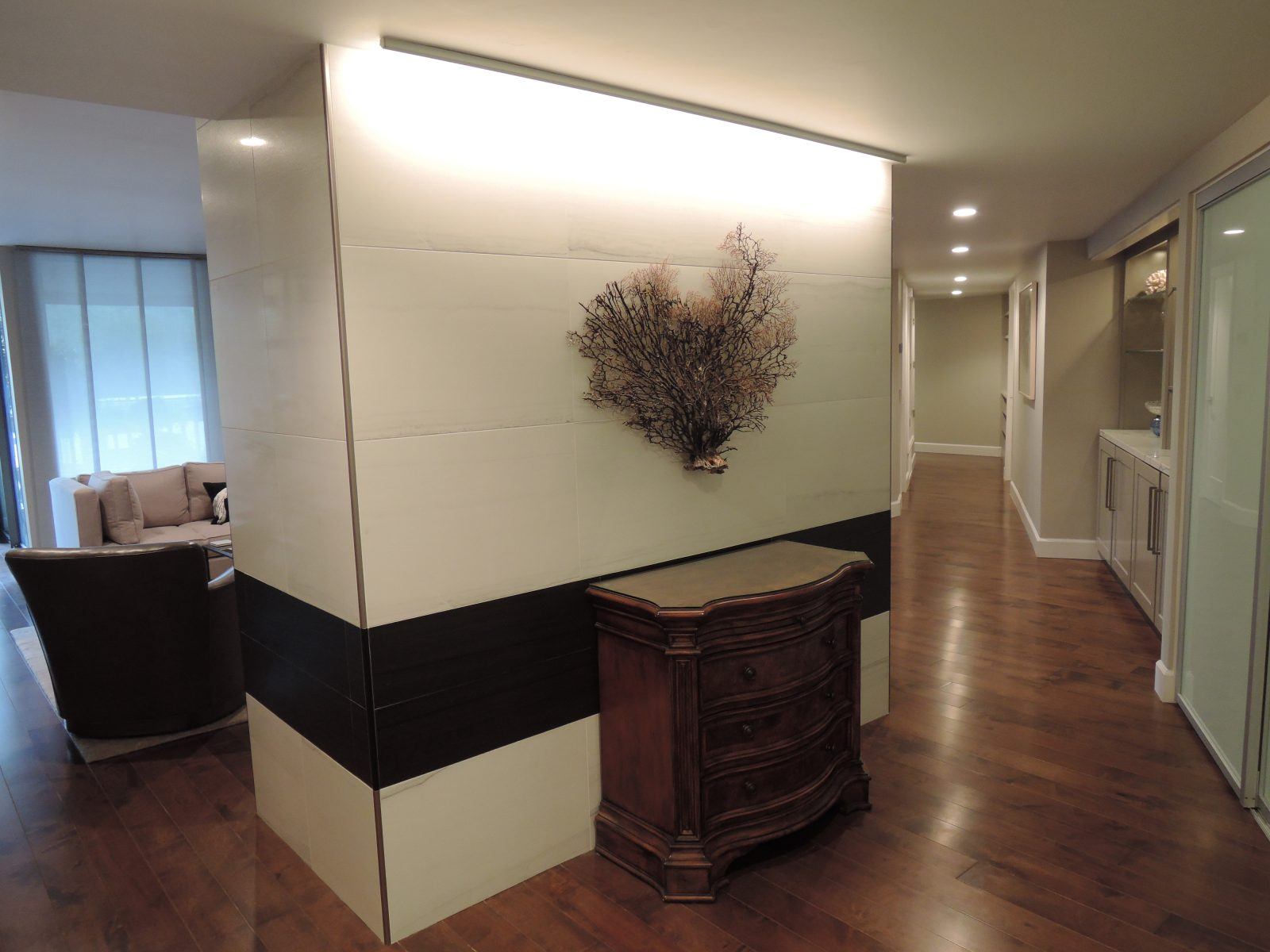 Condo Entry Full Remodel Inside Out Designs